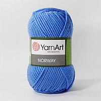 Пряжа YarnArt Norway (Ярнарт Норвей) акриловая, синий №224