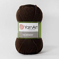 Пряжа YarnArt Norway (Ярнарт Норвей) акриловая, коричневый №217