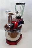 Кухонный комбайн Crownberg CB 3404 3 в 1 2200Вт, фото 6