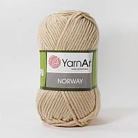 Пряжа YarnArt Norway (Ярнарт Норвей) акриловая, светло-бежевый №805