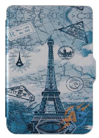 Обложка (чехол) для электронной книги PocketBook 627 Touch Lux 4/ 632 HD3/ 616 Basic Lux 2 с графикой Париж