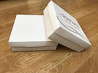 Коробка 20х20х7 см белая самосборная