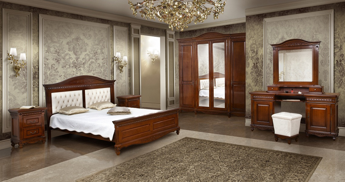 Ліжко 1600 / тканина/ Carina Simex Горіх