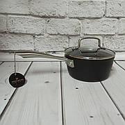 Сотейник со стеклянной крышкой с мраморным антипригарным покрытием 1.4л 16*7.5см Edenberg