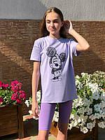 Летние детские велосипедки Фиолетовый