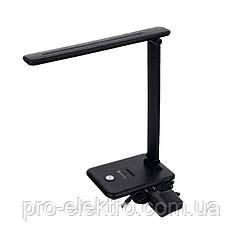 LED світильник настільний 11W чорний EH-LMT-01