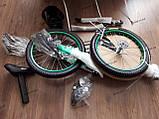 """Велосипед дитячий TT 16"""" легка магнієва рама (4-8 років), зелений, фото 9"""