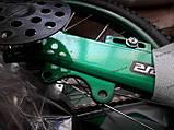 """Велосипед дитячий TT 16"""" легка магнієва рама (4-8 років), зелений, фото 8"""