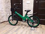 """Велосипед дитячий TT 16"""" легка магнієва рама (4-8 років), зелений, фото 2"""