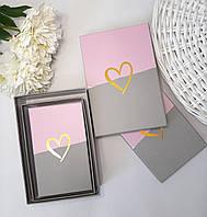 """Подарочные коробки  """"Сердце"""" 3 размера в наборе (можно поштучно), фото 1"""