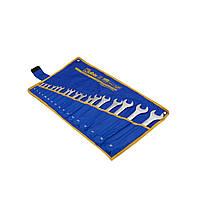 Ключи комбинированные гаечные набор 20 шт., (6-19,21,22,24,27,30,32 мм), 31CrV3, DIN 3113, фото 1