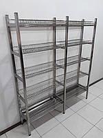 Стеллаж для сушки посуды 1600х320х1800