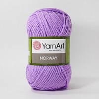 Пряжа YarnArt Norway (Ярнарт Норвей) акриловая, сиреневый №223