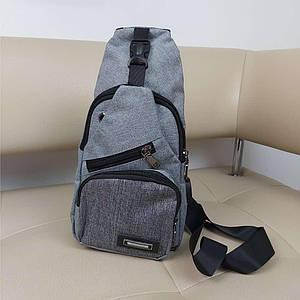 Однолямочный рюкзак-бананка для старшеклассников Valiria Fashion 32*18,5*12 см