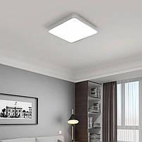 Светильник потолочный Xiaomi Yeelight LED Celing Lamp PLUS Grey для умного смарт дома, фото 8