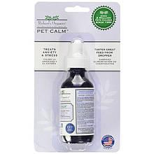 Успокаивающие антистресс капли SynergyLabs Richard`s Organics Pet Calm для кошек и собак 59 мл