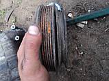 Б/У шкив коленвала фольцваген шаран 1.9тди, фото 3