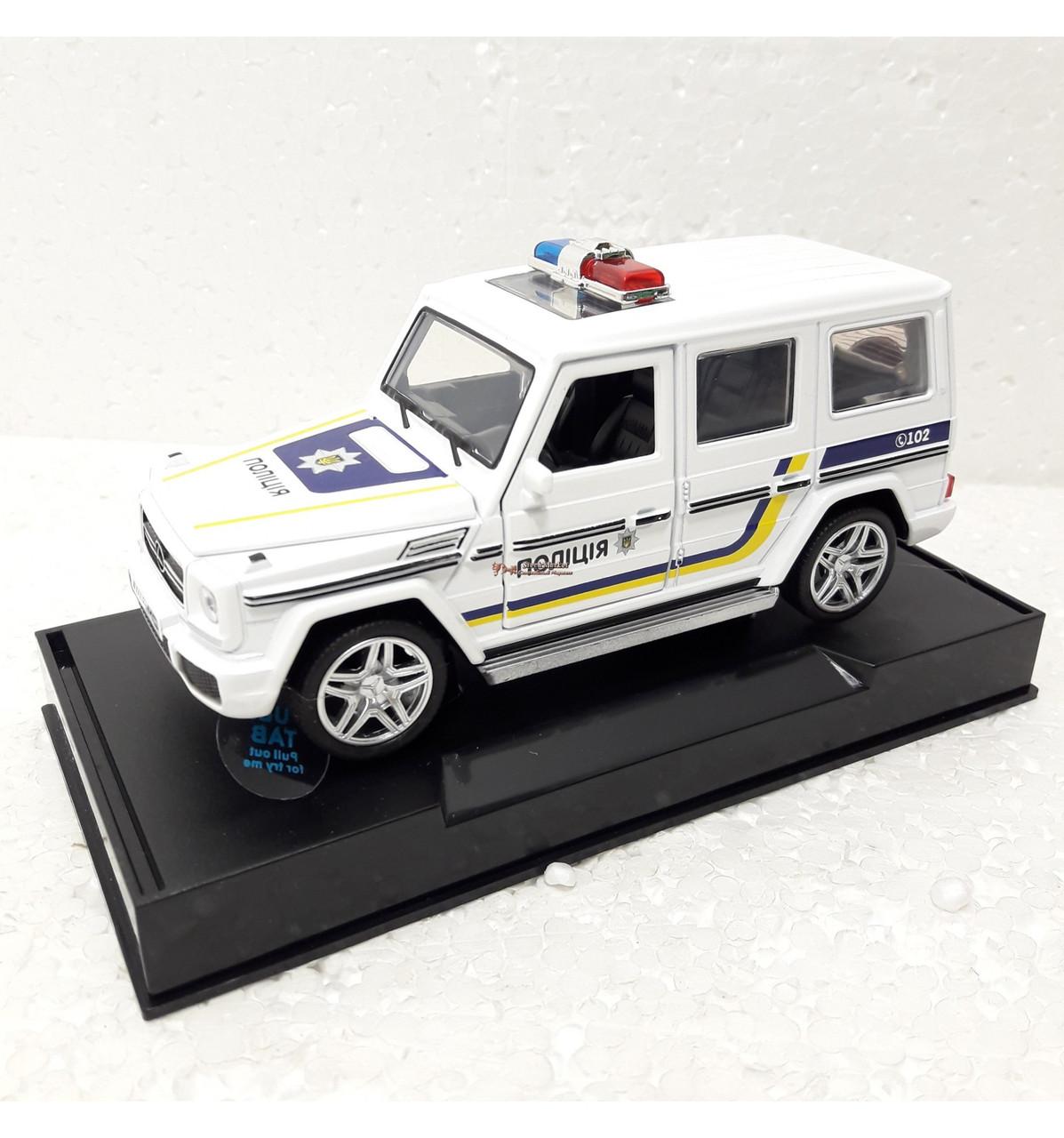 Машинка Автопром полиция 1:32 Гелик