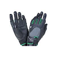 MadMax, Перчатки спортивные женские Klaudia MFG-920 серый/зеленый