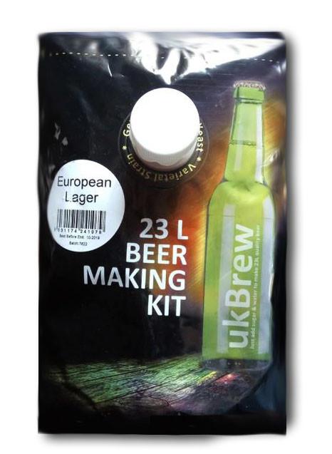Пивной экстракт UK Brew European Lager