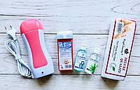 Стартовый набор для депиляции кассетный Elit-Lab  (тоник + масло 50 мл), фото 1