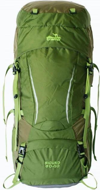 Рюкзак туристический Tramp Sigurd TRP-045 70 л, зеленый