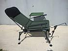 Крісло коропове M-Elektrostatyk FK5 ST/P NN посилене з широкими підлокітниками, фото 5