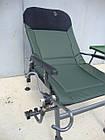 Крісло коропове M-Elektrostatyk FK5 ST/P NN посилене з широкими підлокітниками, фото 6