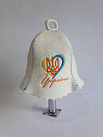 Банна Шапка Україна в серці, фото 1