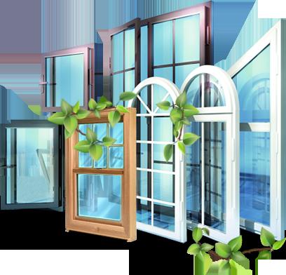 Металлопластиковые Нестандартные конструкции окон