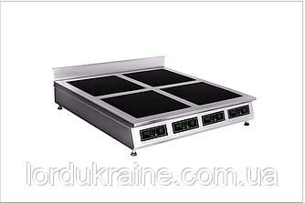 Плита индукционная настольная 4-х конфорочная Сквара Sit 4.12 (4х3 кВт)