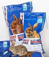 Комбікорм для відгодівлі Кролів від 2 місяців Кроликів гранули 25 кг