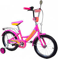 Велосипед детский 2-х колёсный, Like2bike RALLY, 14 дюймов, фуксия, 191418