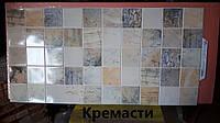 Панель листова декоративна ПВХ,для кухні,ванної,офісу,стін,стелі 485*960 Кремасти