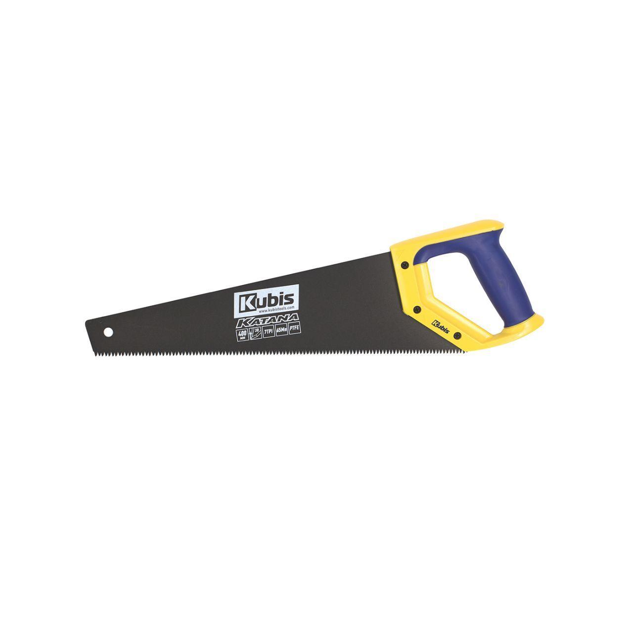 Ножівка по дереву 450 мм KATANA, тефлонове покриття, 7TPI, розжарений зуб, 3-D заточка
