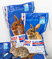 Комбікорм Гранули для відгодівлі Кролів від 2 місяців Кроликів 10 кг