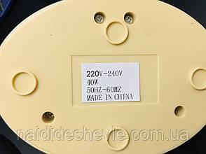Воскопплав касетний на підставці Mingxia 2 в 1, 40 Вт., фото 3