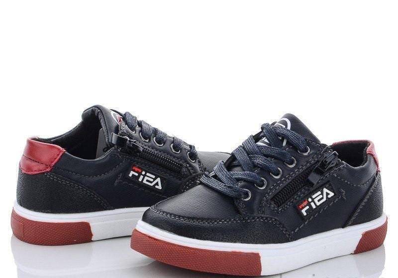 Дитячі чорні кеди для хлопчика на шнурівці в 26 і 28 розмірі