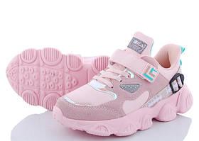 Кросівки для дівчинки на липучці в останньому розмірі 32