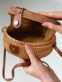 Круглая сумка 20х20 см