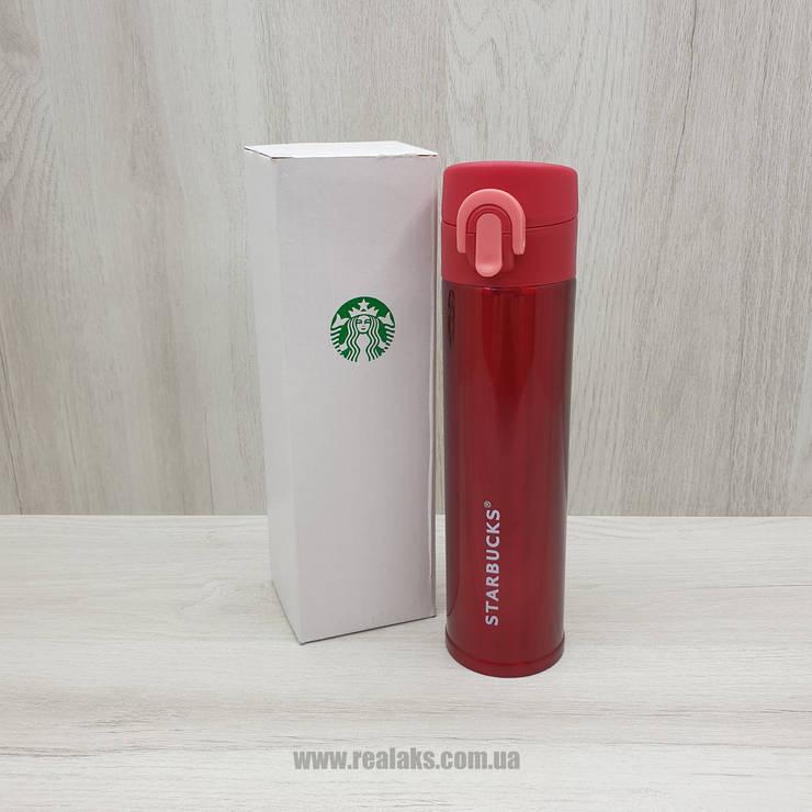 Термос Starbucks 500 мл (Red) копия, фото 2