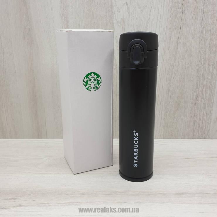 Термос Starbucks 500 мл (чёрный), фото 2