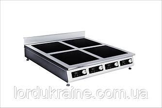 Плита индукционная настольная 4-х конфорочная Сквара Sit 4.14 (4х3,5 кВт)