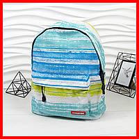 Модный, удобный школьный рюкзак в комплекте с пеналом Running Tiger, голубой