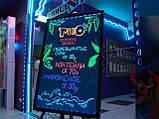 Светодиодная светящаяся вывеска / Led доска для рекламы 60х80, фото 2