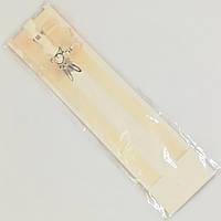 Силиконовые бретели для бюстгальтера ширина 1,5 см., матовые телесные (полупрозрачные)