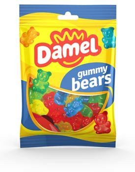 Жуйки Damel Gummy Bears ведмедики,100г,