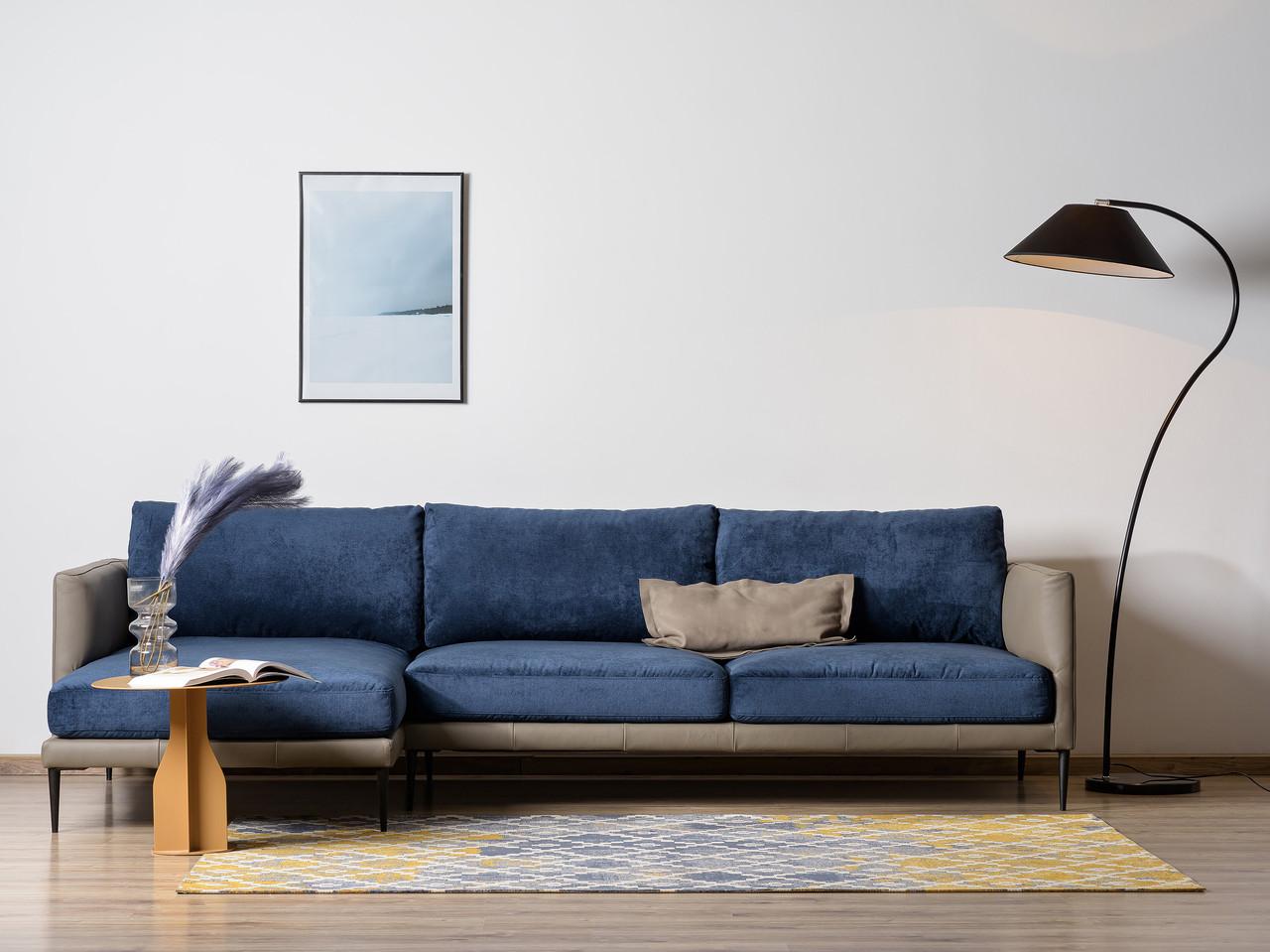 Угловой диван Монтана, для офиса, в салон, стиль лофт