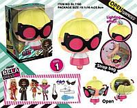 Игровой набор кукла Bela Dolls BL1160 сумка в кот. кукла 17,5см+сюрпризы: одежда, украшения, аксессу ...