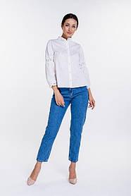Женские укороченные МОМ джинсы